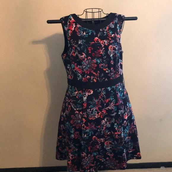 Nine West Sienna Combo Flower Dress NWT